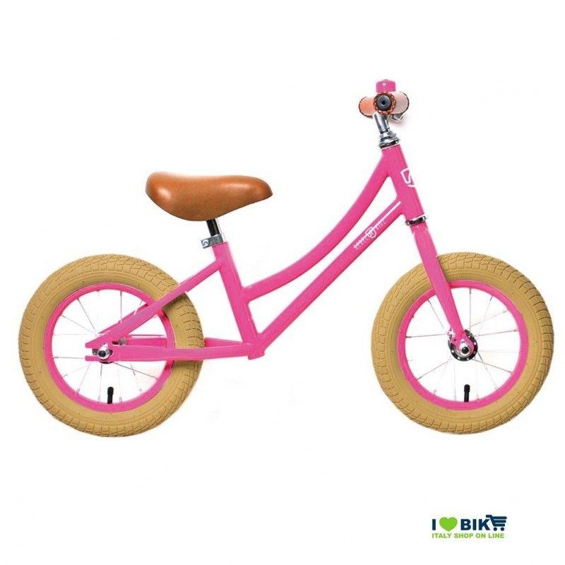 Bike without pedals Rebel Kidz Pink  - 1