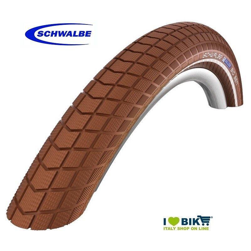 SCHWALBE 700x38 TIRE LITTLE BIG BEN Honey/Reflex
