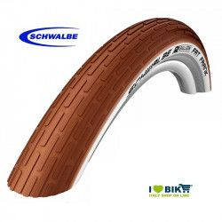 "Cover Mtb / Cruiser Schwalbe FAT FRANK 26"" brown/white"