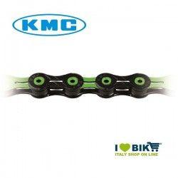 Catena per bicicletta MTB/Corsa KMC X11 SL 11 velocità nera / verde online shop