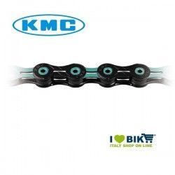 Catena per bicicletta MTB/Corsa KMC X11 SL 11 velocità nera / azzurro Bianchi® online shop