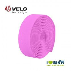 Handlebar tape for bike racing Velo Diamond gel Fluo pink online shop