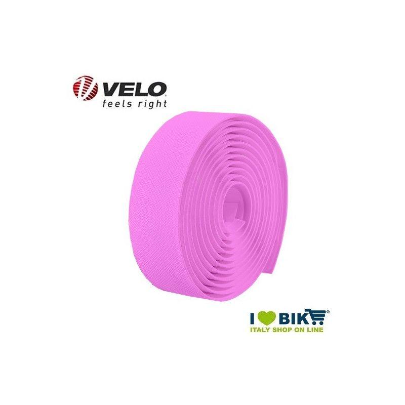 Handlebar tape Velo Gel Diamond Fluo Pink  - 1