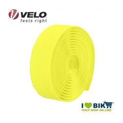 Nastro manubrio per bicicletta corsa Velo Diamond gel Fluo giallo online shop
