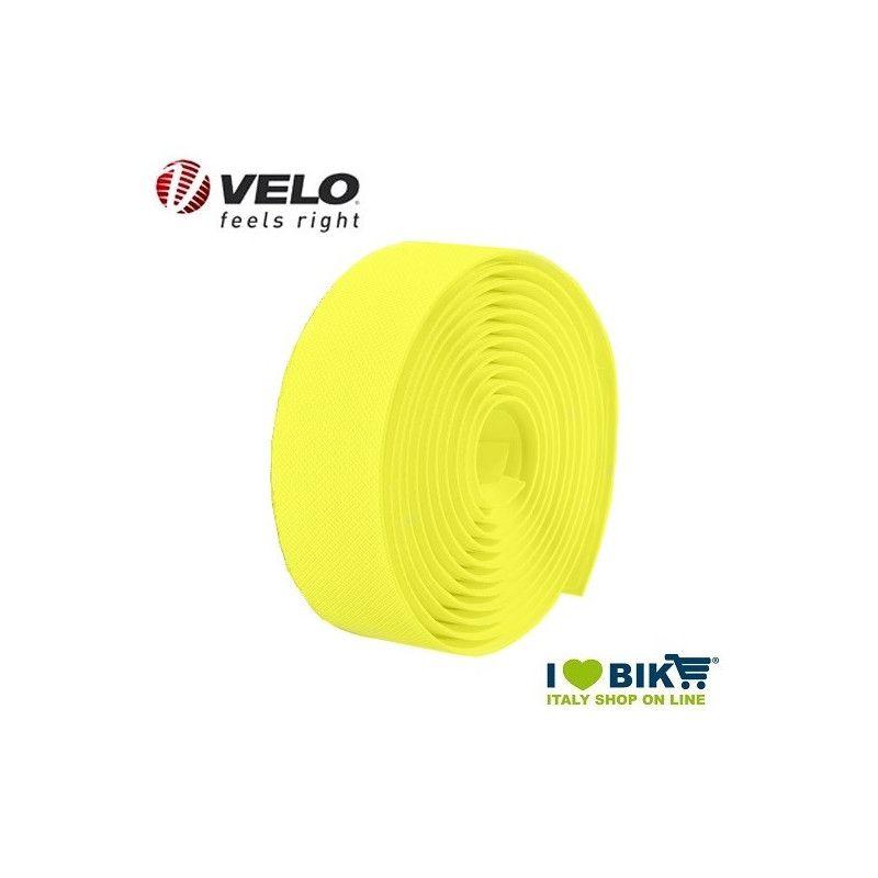 Handlebar tape Velo Gel Diamond Fluo Yellow  - 1