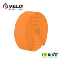 Handlebar tape for bike racing Velo Diamond gel Fluo Orange online shop