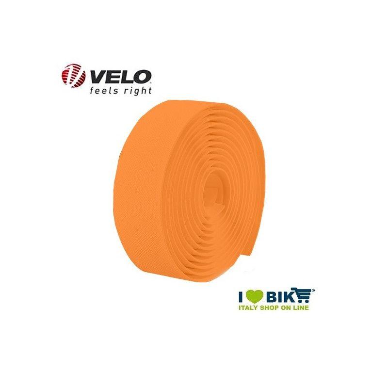 Handlebar tape Velo Gel Diamond Fluo Orange  - 1