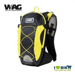 Backpack cycling Wag COLORS black / yellow bike shop