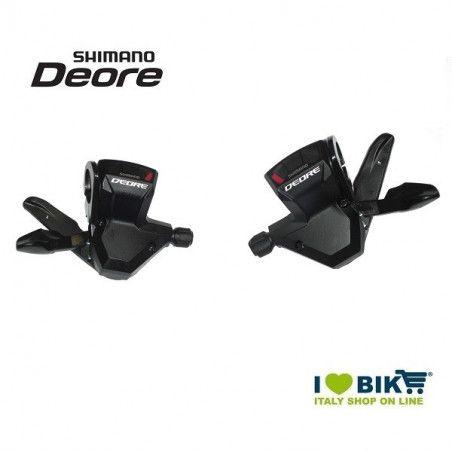 Coppia leve cambio per bici MTB Shimano Deore SL-M590 9v bike shop