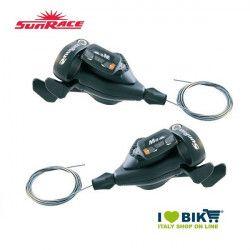 Coppia leve cambio Sunrace MTB sport 9 velocità per bici MTB online shop