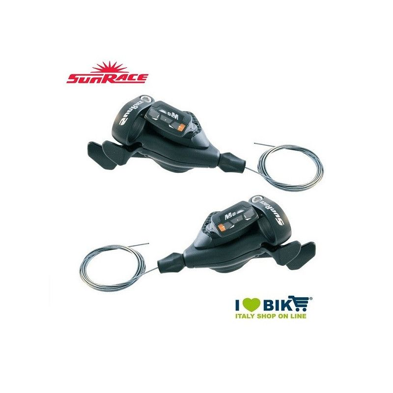 Coppia leve cambio 7x3 v  Sunrace MTB Sport SunRace - 1