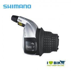 Leva cambio Grip Shimano tourney 7 velocità silver online shop
