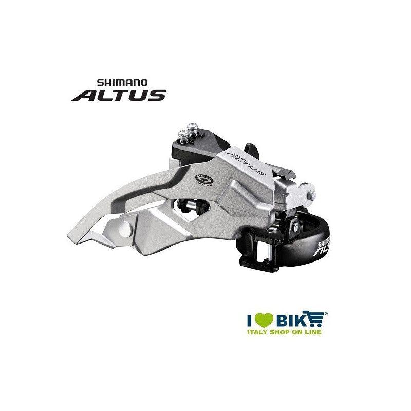 Deragliatore anteriore Shimano ALTUS FD-M 370 doppio tiraggio online shop