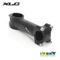 Attacco in alluminio 90 mm. corsa/MTB nero  ø 25.4mm