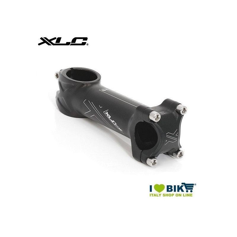 Attacco in alluminio 90 mm. corsa/MTB nero  ø 25.4mm  - 1