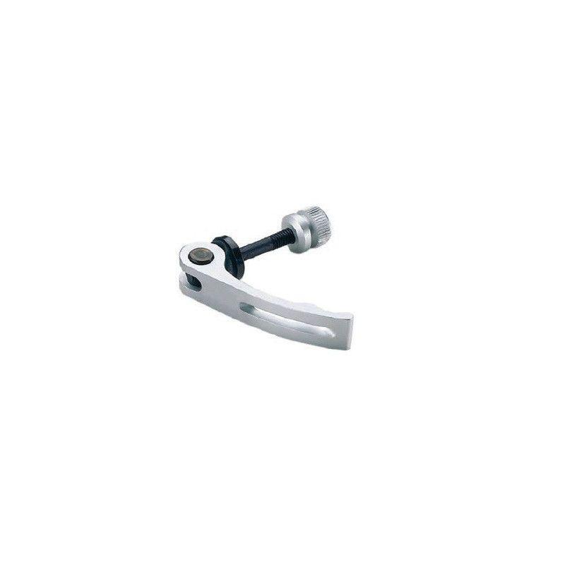 Saddle locking aluminum 6 mm silver  - 1