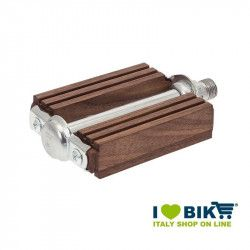 Pedals vintage bike R wooden walnut online shop