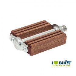 Pedali R legno in mogano