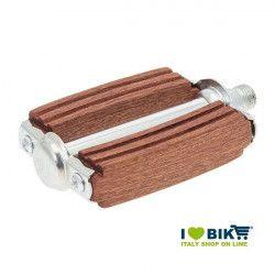 Pedali sport in legno di mogano online shop