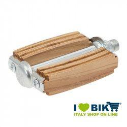 Pedali sport in legno di ulivo naturale online shop
