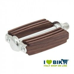 Couple of mahogany wooden pedals sports online shop