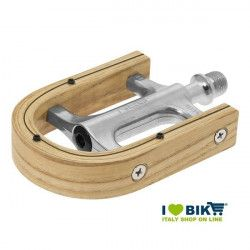 Elegance vintage bike pedals made of olive wood online sale
