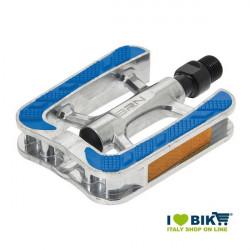 Pedali BRN City bike in alluminio con gomma antiscivolo blu bike shop