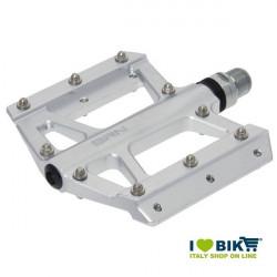 Coppia pedali BRN Kite in alluminio color silver shop online
