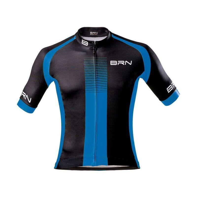 Maglia ciclismo BRN abbigliamento shop nero blu