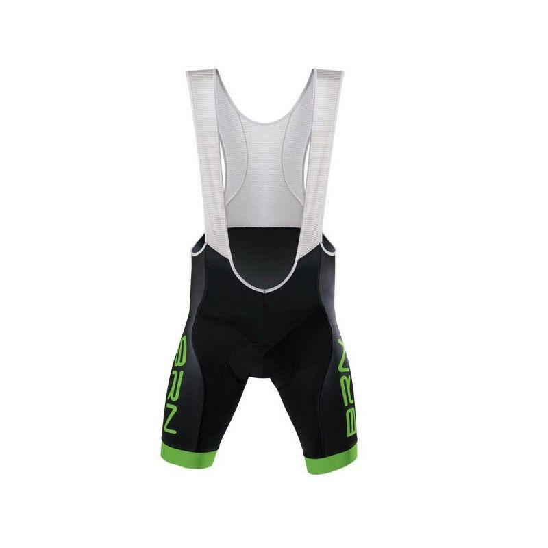 Pants BRN with suspenders Man Black/ Green Fluo BRN - 1