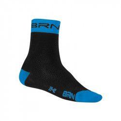 Calzino Ciclismo BRN  nero/blu