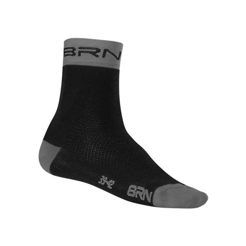 Sock Cycling BRN black / grey BRN - 1