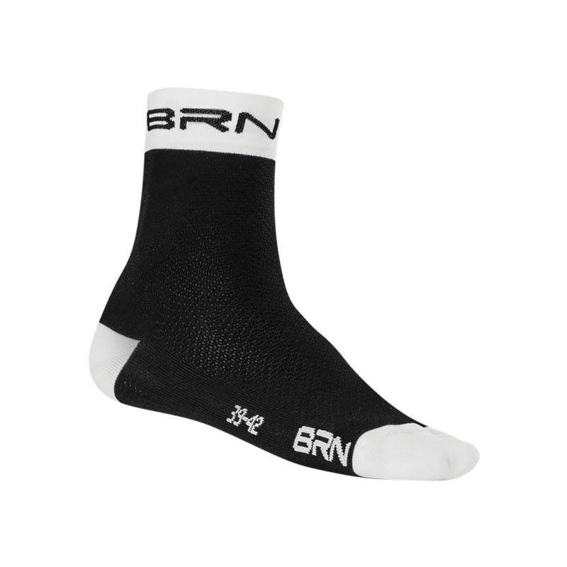 Calza Ciclismo BRN nera bianca