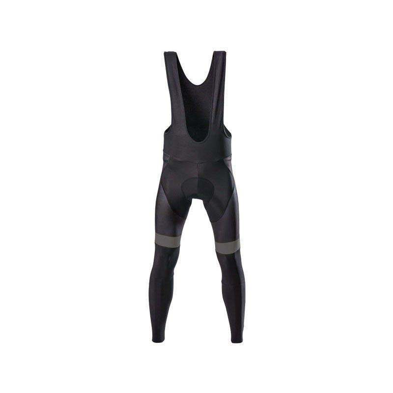 Pantalone ciclista invernale nero grigio