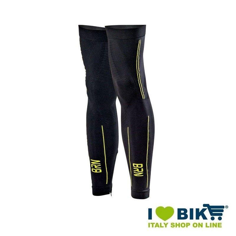 Gambali ciclismo invernali BRN nero/giallo fluo taglia unica online shop