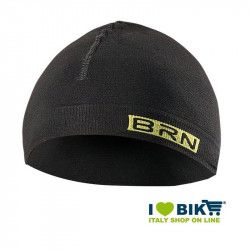 Cycling cap underhelmet BRN black-yellow fluo one size online shop