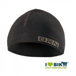 Berretto da ciclismo sottocasco BRN nero-grigio taglia unica online shop