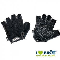 Guanti ciclo BRN Air Pro nero/grigio negozio accessori ciclismo