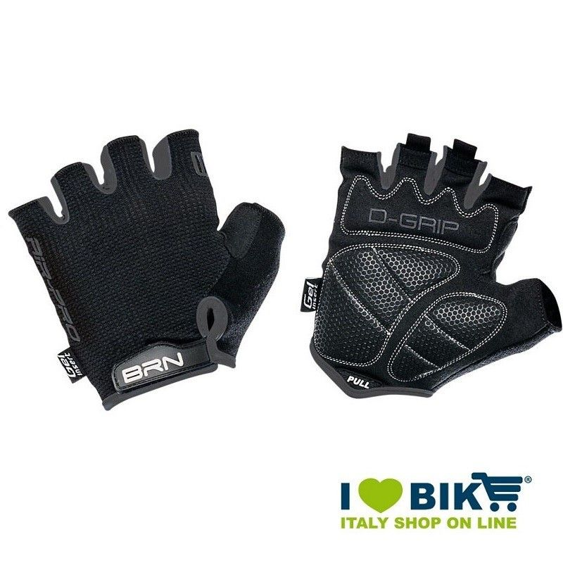 Cycle Gloves BRN Air Pro black / gray cycling accessories shop