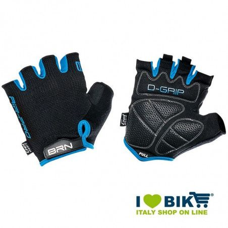 Guanti ciclismo BRN Air Pro nero / blu bike shop
