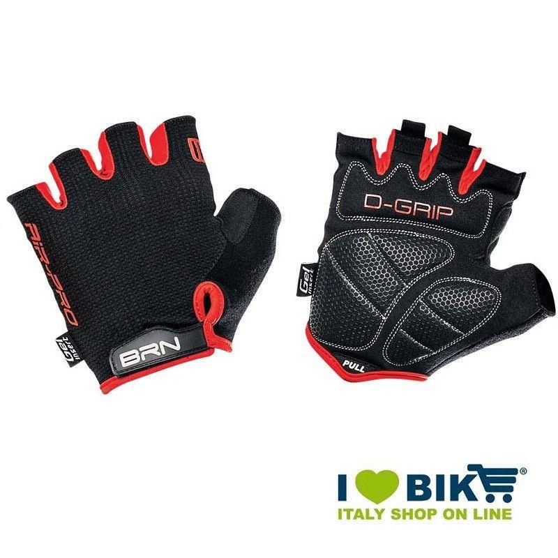 Cycling Gloves BRN Air Pro black / red BRN - 1