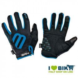Long Gloves BRN Cycle Gel Pro Touch Black / blue online shop