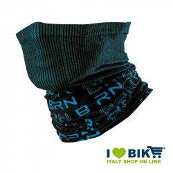 Scaldacollo multifunzione BRN nero / blu bike shop