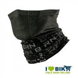 Scaldacollo multifunzione BRN nero / grigio bike shop