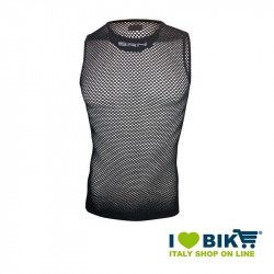 BRN sleeveless tank top in black net bike store