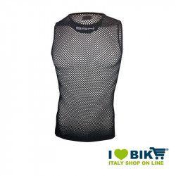 BRN sleeveless tank top in black net bike store