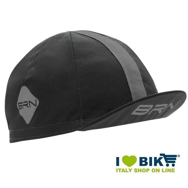 Cappellino ciclismo BRN grigio / grigio taglia unica bike shop