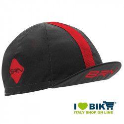 Cappellino ciclismo BRN grigio / rosso taglia unica bike shop