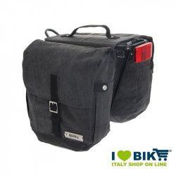 Borse bicicletta BRN Rider nere a bisaccia Waterproof vendita online