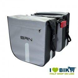 Borse BRN Tamigi grigie Waterproof accessori bicicletta